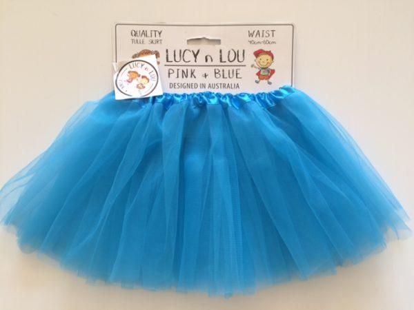 Tutu Aqua Blue Child