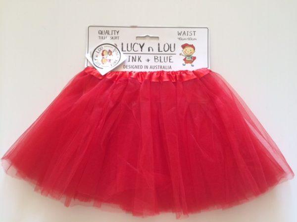 Tutu Skirt Red Child
