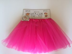 Tutu Tulle Skirt Dark Fushia Child