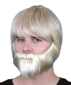 Beard and Moustache Grey - image Beard-Blonde-Synthetic-With-Elastic-300x359 on https://www.abracadabrafancydress.com.au