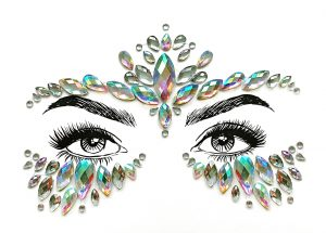 Body Bands Tattoos - Chained Love - image Face-Jewels-Mystique-300x215 on https://www.abracadabrafancydress.com.au
