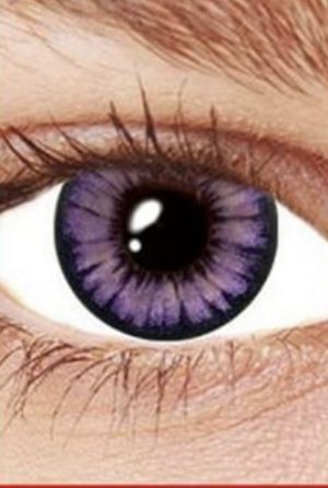Hulk Green 3 Month Contact Lenses Eye Fusion - image Violet-contacts-300x446 on https://www.abracadabrafancydress.com.au