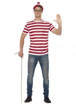 Baywatch Beach Men's Lifeguard Costume - image Wheres-Wally-Kit-300x415 on https://www.abracadabrafancydress.com.au
