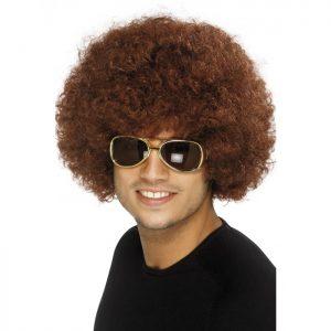 Blonde 70's Mod Guy Wig - image Brown-70s-Funky-Afro-Wig-300x300 on https://www.abracadabrafancydress.com.au