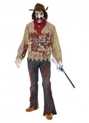 Zombie Cowboy Costume Adult Halloween - image Zombie-Cowboy-Costume-300x415 on https://www.abracadabrafancydress.com.au