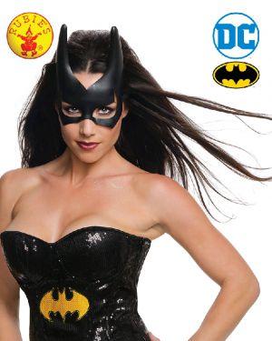 Batgirl Mask Batman - image BATGIRL-MASK-ADULT on https://www.abracadabrafancydress.com.au