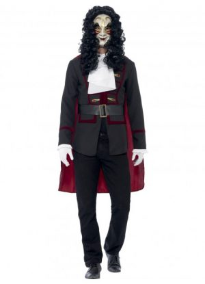The Joker Deluxe Costume Plus Size - image Venetian-Highwayman-Costume-300x415 on https://www.abracadabrafancydress.com.au