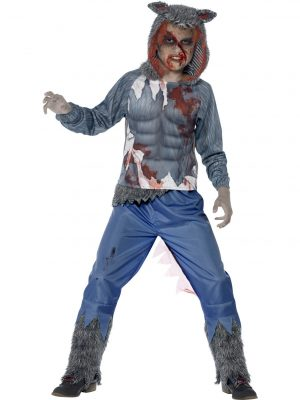 Clown Costume - image Deluxe-Wolf-Warrior-Costume-300x400 on https://www.abracadabrafancydress.com.au