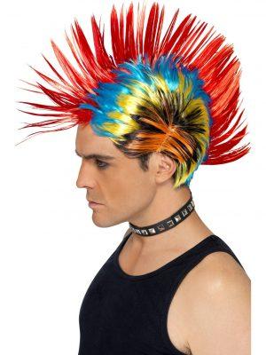 70's Brown Shag Wig - image 80s-Street-Punk-Mohawk-Wig-300x400 on https://www.abracadabrafancydress.com.au