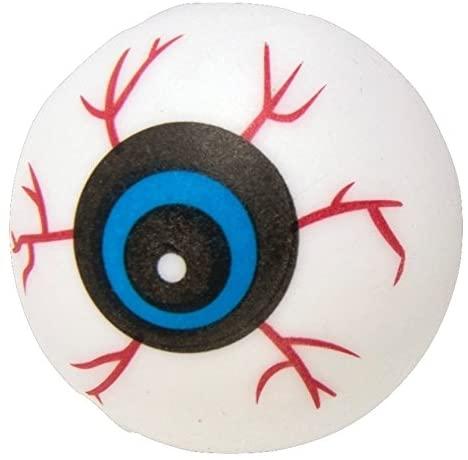 Fake Eye Balls Globes Oculaires Lightweight Ping Pong Ball Eye Ball Accessory - image EYE-BALL-1 on https://www.abracadabrafancydress.com.au