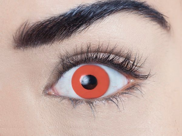 Blood Red 3 Month Contact Lenses - image  on https://www.abracadabrafancydress.com.au