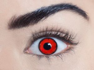 Aqua Cat Eye 1 Day Contact Lens - image  on https://www.abracadabrafancydress.com.au