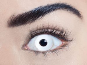 White out 1 Day Contact Lens - image  on https://www.abracadabrafancydress.com.au