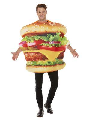 Burger Man Costume Hamburger Stag Night Fast Food Buck's Fancy Dress Party - image Burger-Costume-1-300x400 on https://www.abracadabrafancydress.com.au