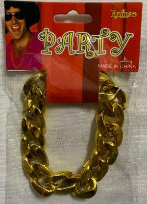 Large Links Chunky Gold Bracelet Pimp Gangster Hip Hop Mr. T Costume Jewellery - image Gold-Bracelet-Pimp-300x416 on https://www.abracadabrafancydress.com.au