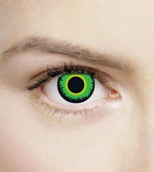 Enchanted-Azure/Natural 3 Month Contact Lenses - image green-werewolf-300x335 on https://www.abracadabrafancydress.com.au