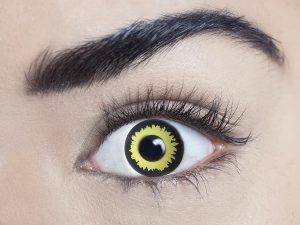 White out 1 Day Contact Lens - image wolf-300x225 on https://www.abracadabrafancydress.com.au