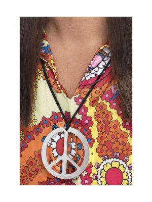 Rainbow Peace Earrings - image Peace-Sign-Medallion-300x400 on https://www.abracadabrafancydress.com.au