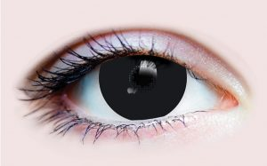 Black - Mini Scleral 15.2 mm 3 Month Contact Lenses