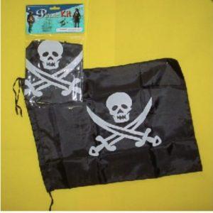 Pirate Flag Skull and Cross Bones Swords Black Decorative
