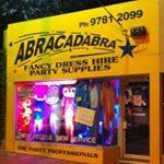 Follow Us on Instagram - image abracadabrafancydress on https://www.abracadabrafancydress.com.au